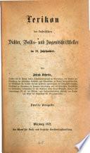 Lexikon der katholischen Dichter, Volks- und Jugendschrifsteller im 19.Jahrhundert