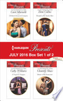 Harlequin Presents July 2016   Box Set 1 of 2