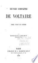Oeuvres complètes de Voltaire: Mélanges