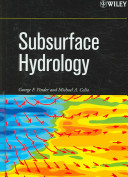Subsurface Hydrology, 2006