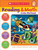 Scholastic Reading   Math Jumbo Workbook Grade Pre k