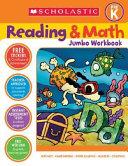 Scholastic Reading & Math Jumbo Workbook Grade Pre-k