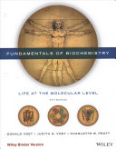 Fundamentals of Biochemistry Fifth Edition Binder Ready Version with WileyPlus Learning Space Card Set