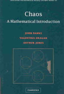 Chaos: A Mathematical Introduction