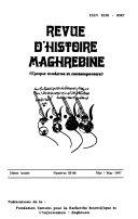 Revue d'histoire maghrebine