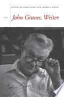 John Graves, Writer