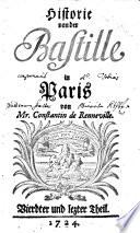 Historie von der Bastille in Paris