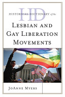 Historical Dictionary of the Lesbian and Gay Liberation Movements