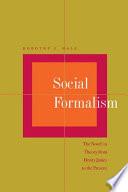 Social Formalism