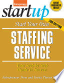 Start Your Own Staffing Service