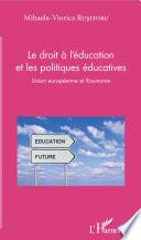 Le Droit L Ducation Et Les Politiques Ducatives