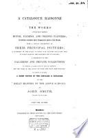 Nicholas Poussin, Claude Lorraine, and Jean Baptist Greuze