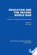 Education and the Second World War