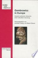 Gombrowicz in Europa