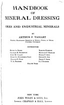 Handbook of Mineral Dressing  Ores and Industrial Minerals