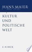 Kultur und politische Welt