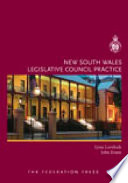 New South Wales Legislative Council Practice