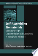 Self assembling Biomaterials