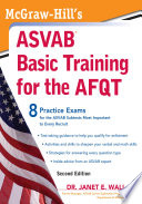 McGraw Hill s ASVAB Basic Training for the AFQT  Second Edition