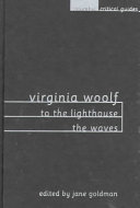 Virginia Woolf  To the Lighthouse  The Waves