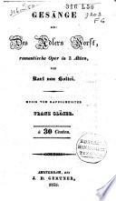 Ges Nge Aus Des Adlers Horst Romantische Oper In Drei Akten