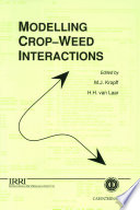 Modelling Crop weed Interactions
