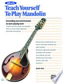 Alfred S Teach Yourself To Play Mandolin