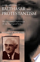 Hans Urs Von Balthasar and Protestantism