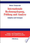 Internationale Rechnungslegung  Pr  fung und Analyse