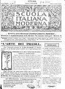 Scuola italiana moderna periodico settimanale di pedagogia  didattica e leteratura