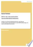 EDI in der internationalen Automobilzulieferindustrie