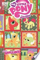 My Little Pony Micro Series 6 Apple Jack