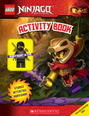 Activity Book with Minifigure  Lego Ninjago  Activity Book with Minifigure