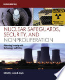 Nuclear Safeguards Security And Nonproliferation