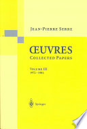illustration du livre Oeuvres - Collected Papers