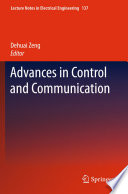 Advances in Control and Communication