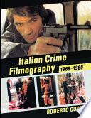Italian Crime Filmography  1968 1980
