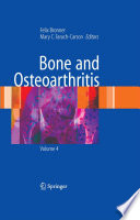 Bone And Osteoarthritis book