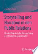 Storytelling und Narration in den Public Relations