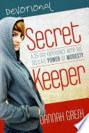 Secret Keeper Devotional To The Secret Keeper Book It Invites Teenage