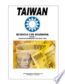 Taiwan Business Law Handbook