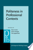 Politeness in Professional Contexts