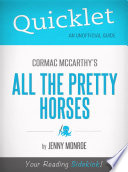 download ebook quicklet on all the pretty horses by cormac mccarthy pdf epub