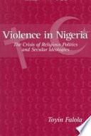 Ebook Violence in Nigeria Epub Toyin Falola Apps Read Mobile