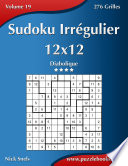 illustration Sudoku Irrégulier 12x12 - Diabolique - Volume 19 - 276 Grilles