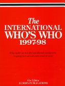 The International Who s Who  1997 98