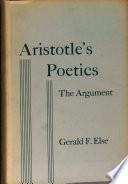 Aristotle s poetics  the argument