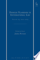 Finnish Yearbook of International Law