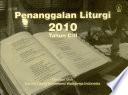 Penanggalan Liturgi 2010