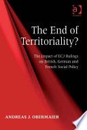 The End of Territoriality?